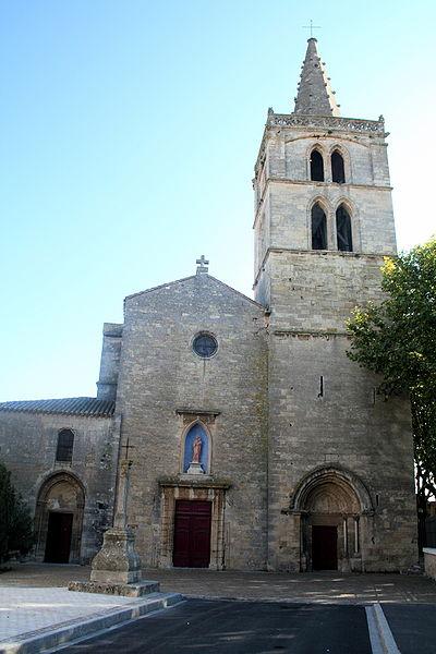 Sérignan (Hérault) - Collégiale Notre-Dame de Grâce.