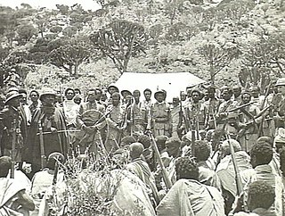 Seyoum Mengesha army commander and a member of the Royal family of the Ethiopian Empire