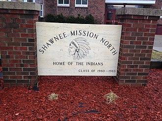 Shawnee Mission North High School - Sign, 2012