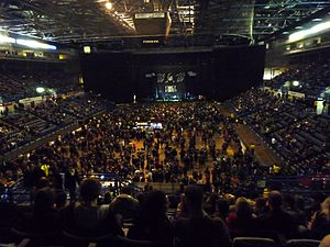 Sheffield Arena - Sheffield Arena Interior