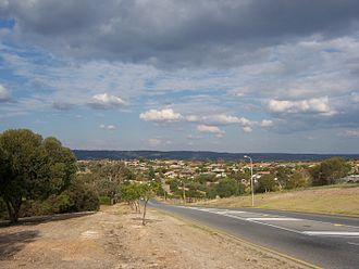 Sheidow Park, South Australia - View of Sheidow Park from Adams Road