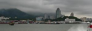 Guangdong Free-Trade Zone - Image: Shekou harbour
