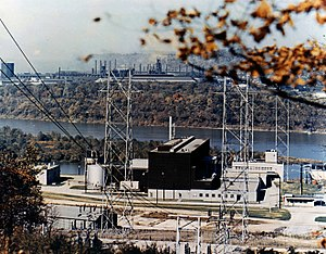 Nuclear power in the United States - The Shippingport reactor was the first full-scale PWR nuclear power plant in the United States.