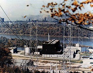 atomic electric power plant