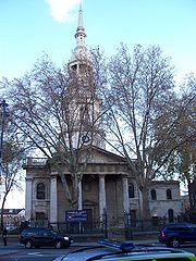 Shoreditch church
