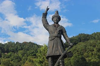 Gorkha District - Prithvi Narayan Shah, last King of Gorkha Kingdom and first one of Kingdom of Nepal