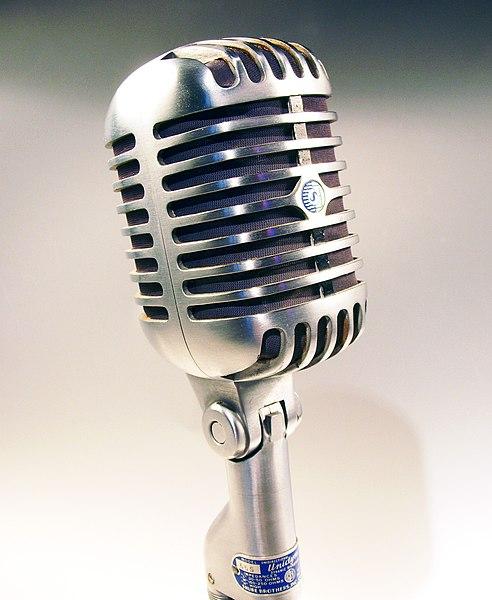 File:Shure mikrofon 55S.jpg