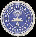 Siegelmarke Bürgermeister-Amt Arolsen W0385090.jpg