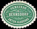 Siegelmarke Gemeinde Bernsdorf - Amtshauptmannschaft Glauchau W0253568.jpg