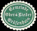 Siegelmarke Gemeinde Ober- & Niedergräfenhain W0253237.jpg
