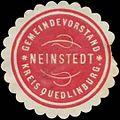Siegelmarke Gemeindevorstand Neinstedt Kreis Quedlinburg W0384169.jpg