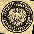 Siegelmarke Königliche Preussische Regierungs - Hauptkasse zu Lüneburg W0221460.jpg