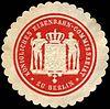 Siegelmarke Königliches Eisenbahn - Commissariat zu Berlin W0219193.jpg