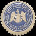 Siegelmarke K.Pr. Artillerie-Prüfungs-Commission W0379419.jpg