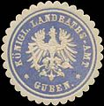 Siegelmarke K. Landraths-Amt Guben W0391551.jpg