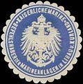 Siegelmarke K. Marine Befehlshaber der Marineanlagen in Libau und Kurland W0357521.jpg