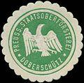 Siegelmarke Preuss. Staatsoberförsterei Doberschütz W0331521.jpg