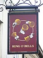 Sign for the Ring O' Bells - geograph.org.uk - 1559771.jpg