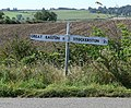 Sign on Stockerston Lane - geograph.org.uk - 561692.jpg