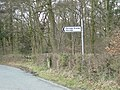 Signpost by Park Coppice - geograph.org.uk - 740282.jpg