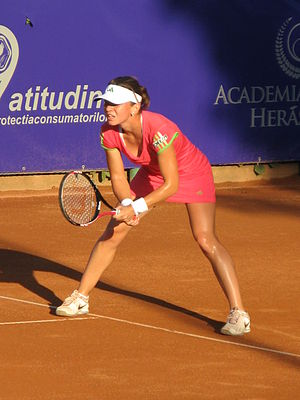 Simona Halep - Halep on clay, at the 2011 BCR Open Romania Ladies
