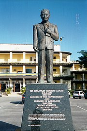 Sir Grantley Adams statue, Barbados.jpg
