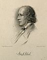 Sir Henry Wentworth Acland. Stipple engraving by C. Holl aft Wellcome V0000033.jpg