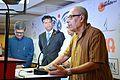 Sirshendu Mukhopadhyay Addresses - Apeejay Bangla Sahitya Utsav Inauguration - Kolkata 2015-10-10 4916.JPG