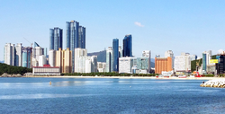 Skyline of Haeundae