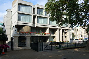 Kensington Palace Gardens - Embassy of Slovakia