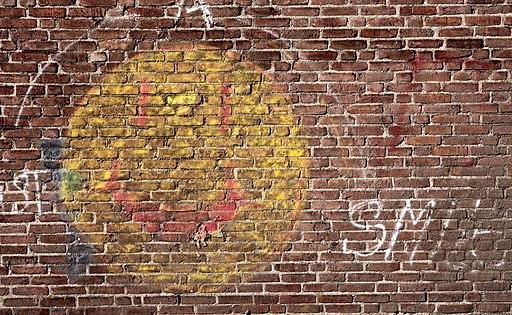 Smile grafitto