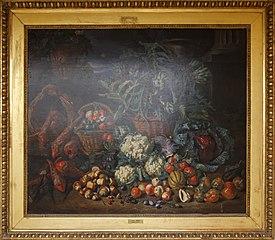 Nature morte : légumes et fruits