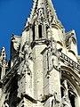 Soissons (02), abbaye Saint-Jean-des-Vignes, abbatiale, tour nord, lanternon à l'angle sud-est de la flèche.jpg