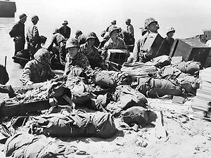 Soldiers and supplies on the Tarawa beach.jpg