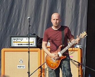 Sonny Mayo - Sonny Mayo (replacing Dave Fortman), with Ugly Kid Joe at Sofia Rocks Fest 2012.