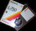 Sony betamax cassette L-750 SD 195min recordingtime.png