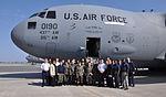 South Carolina CAP cadets pose by C17 Globemaster III.JPG