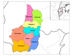 South Province districts.png