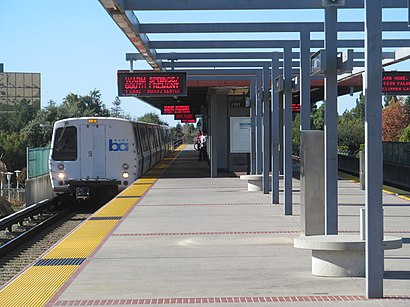How To Get To Fremont Bart Station In Fremont By Bus Bart