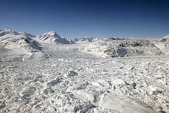 Kangerlussuaq Glacier - Kangerlugssuaq Glacier