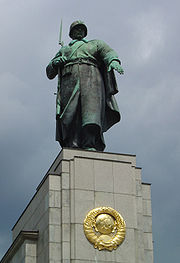 Monument to the Red Army, still standing in Berlin