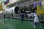 Soyuz MS-08 spacecraft in the integration facility (4).jpg