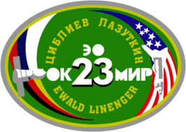 Soyuz TM-25 patch.png