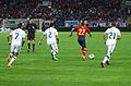 Spain - Chile - 10-09-2013 - Geneva - Alexis Sanchez, Eugenio Mena, Jesus Navas and Marcelo Diaz.jpg