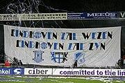 Spandoek gemaakt door SV Eindhoven