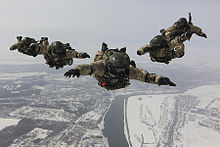 Russian Federation Special operations forces in the air