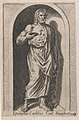 Speculum Romanae Magnificentiae- Esculapius (Esculapius in aedibus Card. Burghesij) MET DP870326.jpg