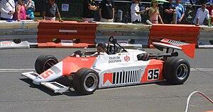 1982 European Formula Two Championship - Thierry Boutsen's Spirit 201