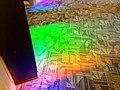 Splash of color on the 3rd level of Central. -KPLsnapshot (13871826354).jpg