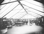 Spruce Division soldiers in recreation tent, ca 1918 (KINSEY 776).jpeg